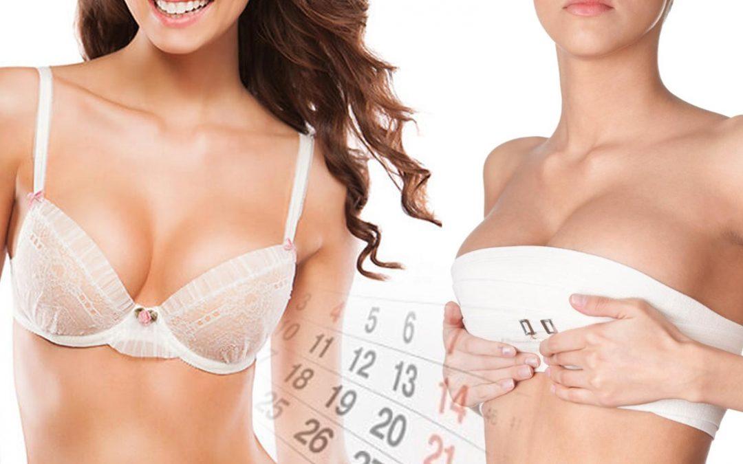 Postoperatorio y recuperación de cirugía de aumento de seno